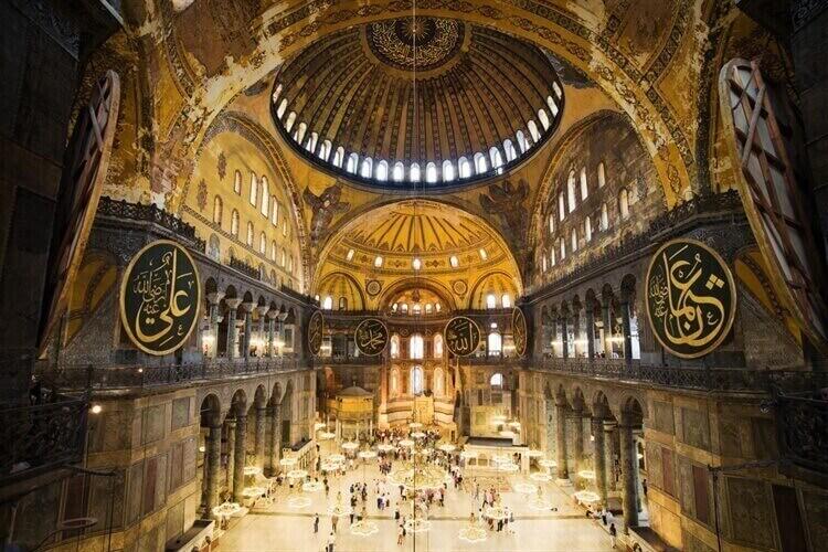 aya sofia istanbul turkije