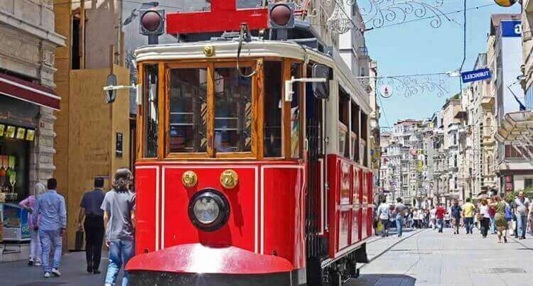 openbaarvervoer istablul turkije