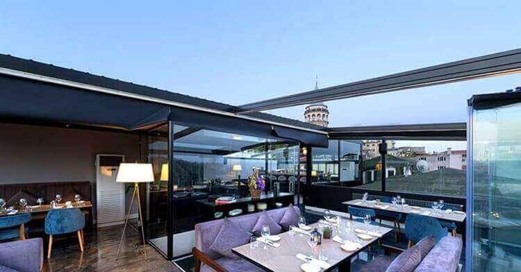 luxe restaurant hotel istanbul turkije
