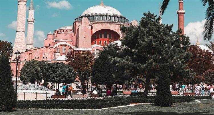 toeristische trekplijster istanbul turkije