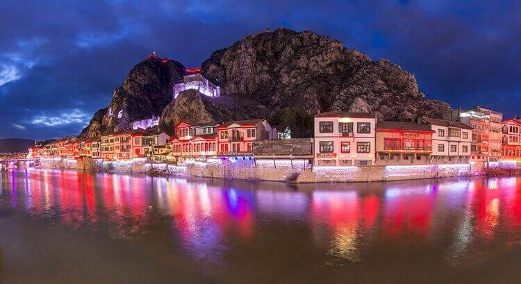 nachtleven amasya turkije