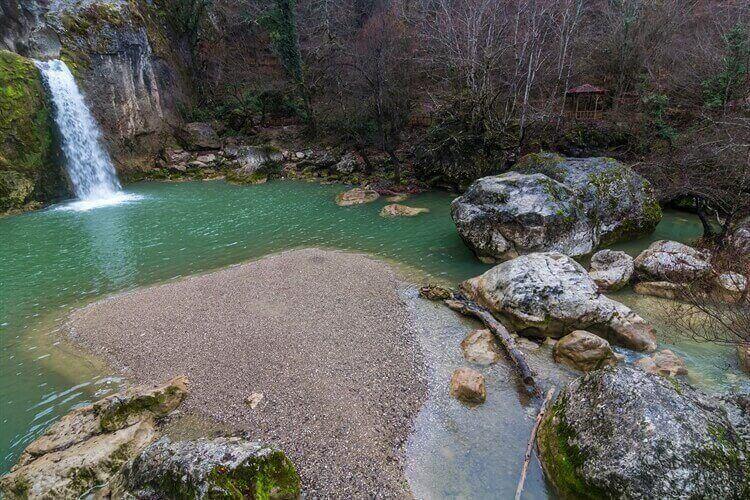 waterval kastamonu turkije