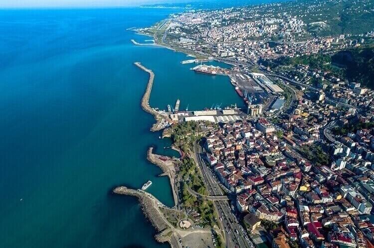 havenstad ordu turkije
