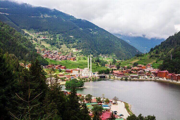 bergen natuur gebied trabzon turkije