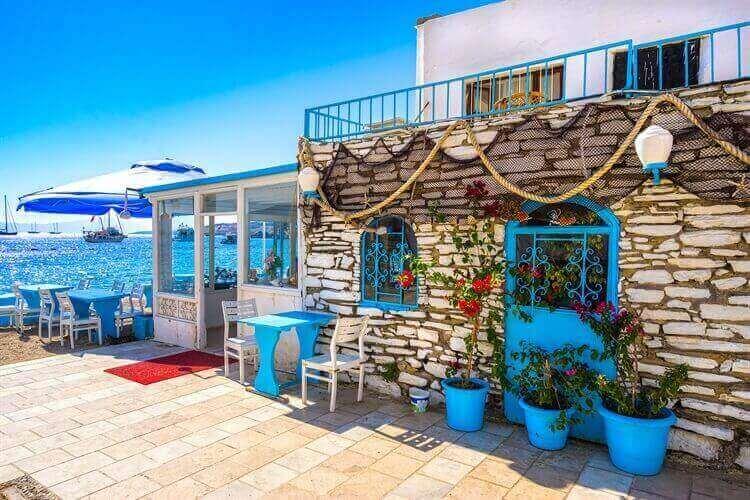 restaurantjes  bodrum turkije
