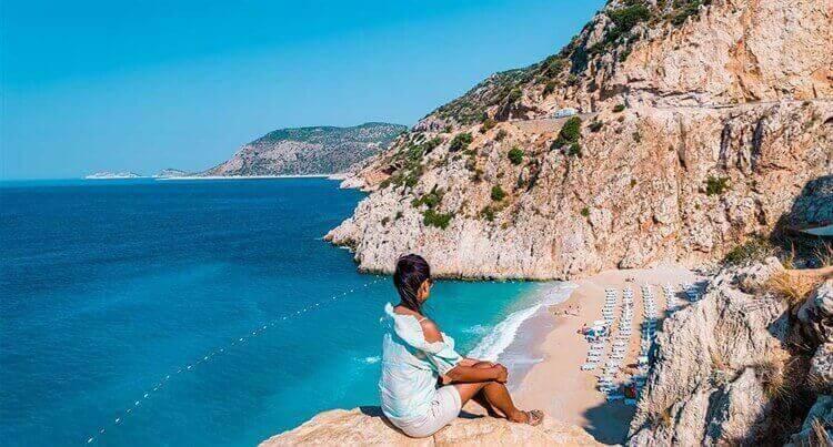 uitzicht op zee turkije