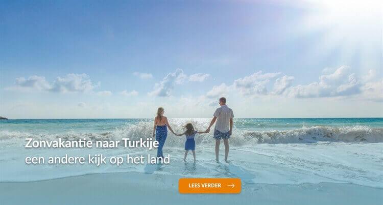 zomervakantie gezin turkije