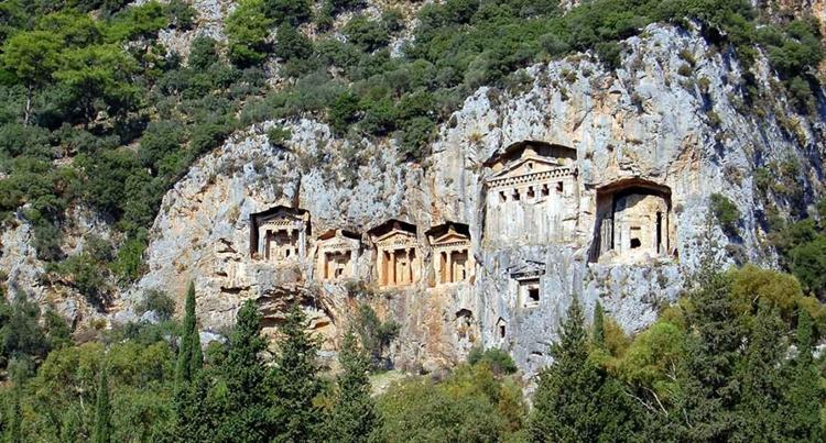 bergen en canyons turkije