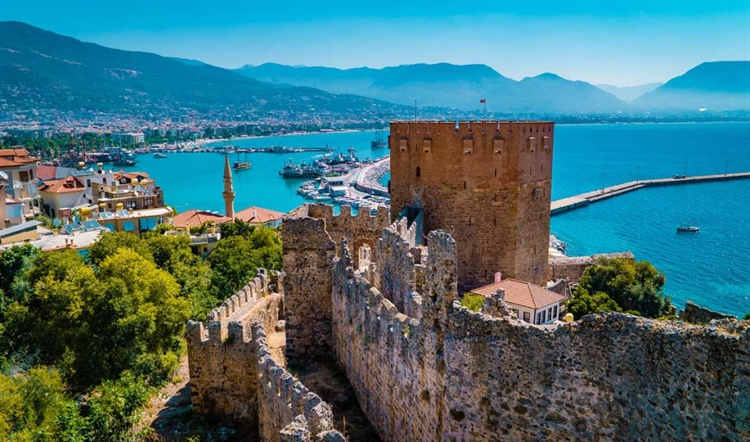 kasteel alanya turkije