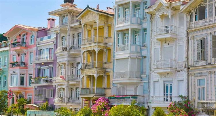 wijken besiktas istanbul turkije