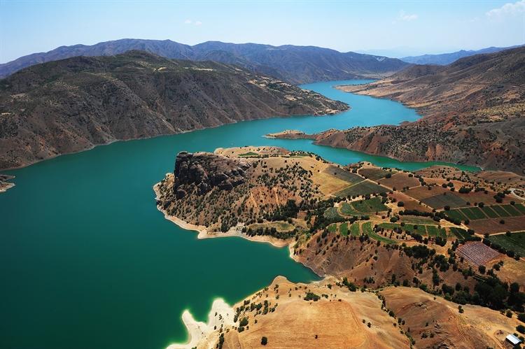berg  omgeving elazig turkije