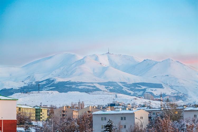 Mount Palandoken erzurum turkije