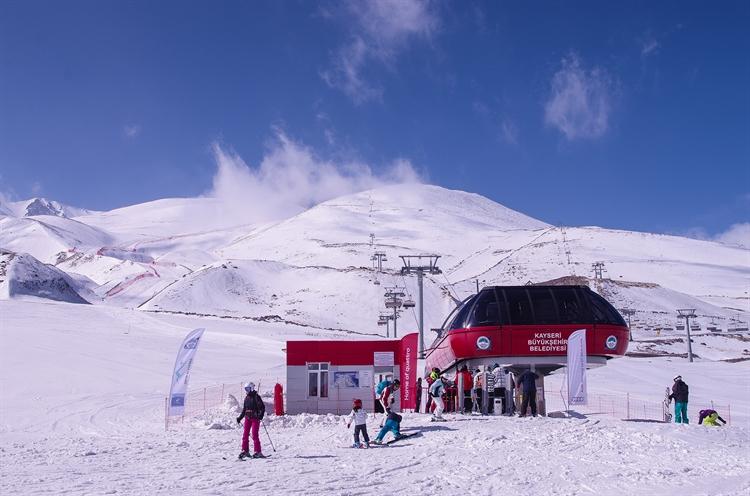skien bergbeklimmen kayseri turkije